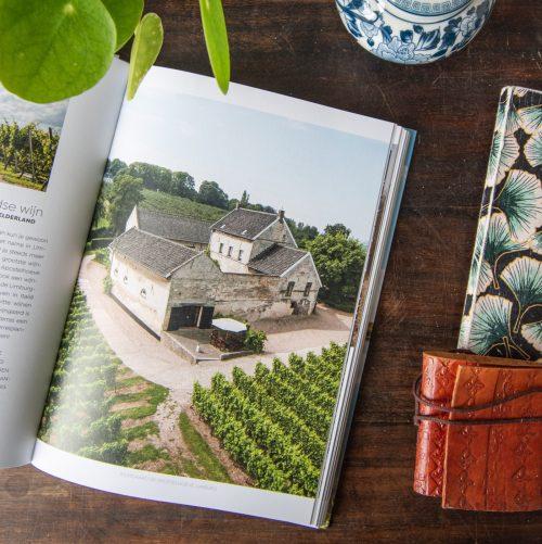 Verliefd op Nederland wijngaard