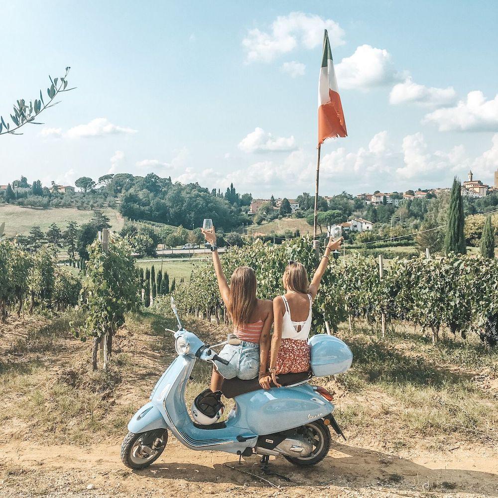 Vespa Trip italie 2020