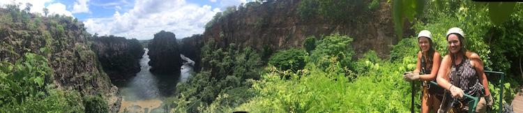 Victoria Falls Zimbabwe ziplinen