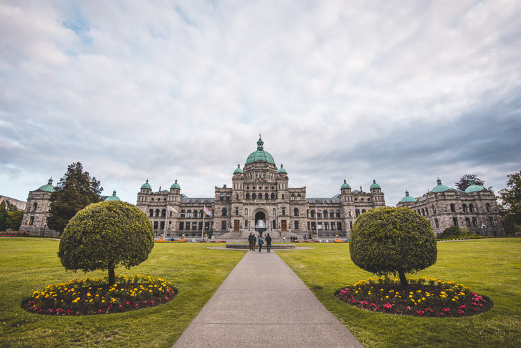Victoria vancouver island British Columbia Parliament Buildings