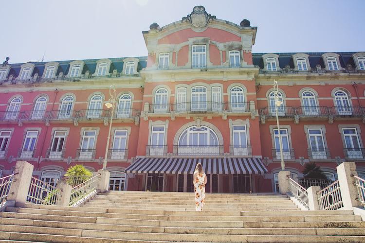 Vidago Palace hotel voorkant
