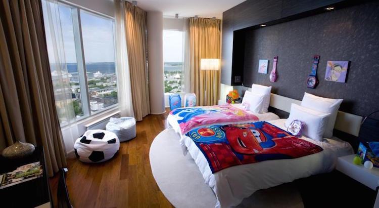 Vijf sterren hotel tallinn kinderkamer