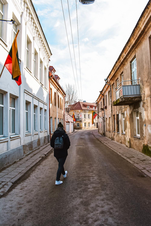 Vilnius bezienswaardigheden Užupis