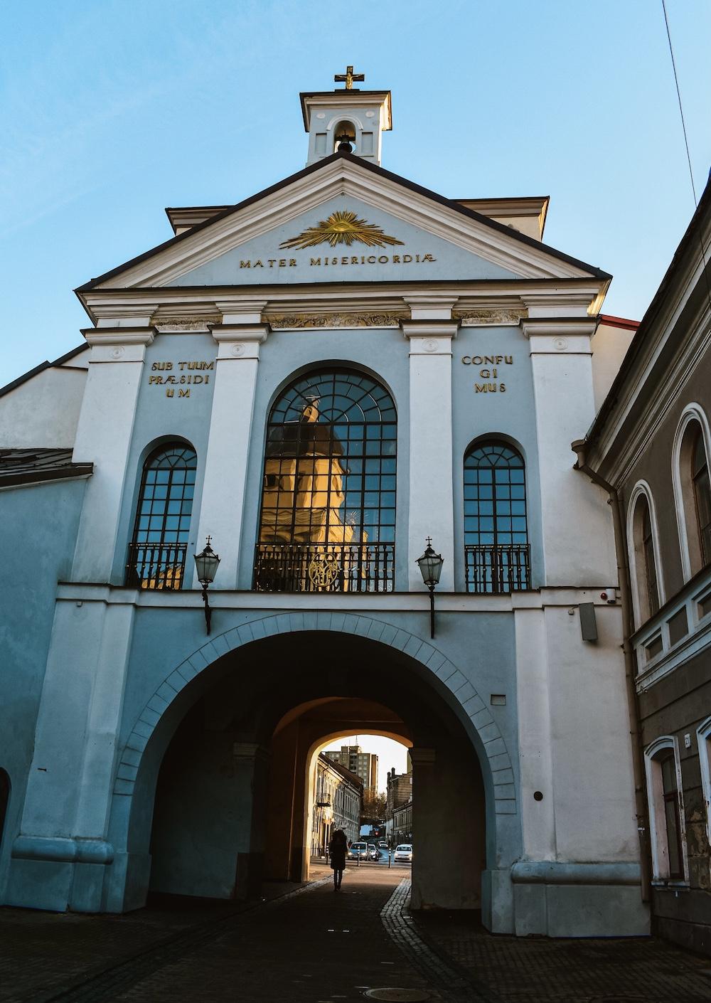 Vilnius bezienswaardigheden binnenstad