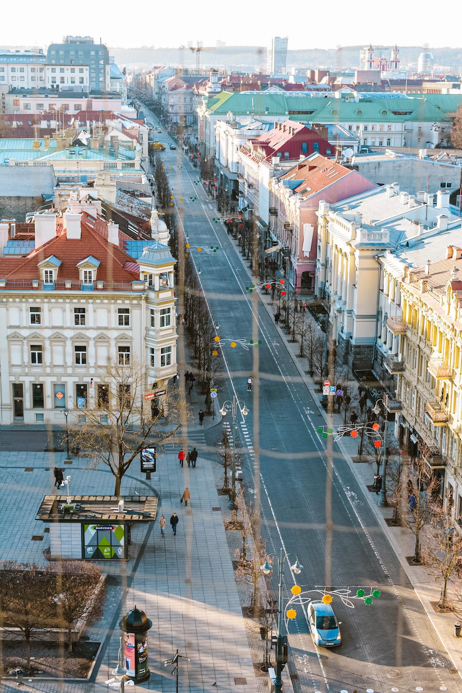 Vilnius bezienswaardigheden, uitzicht klokkentoren