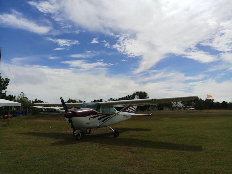 Vliegtuig skydive cebu filipijnen tips