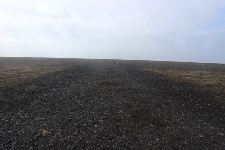 Vliegtuigwrak ijsland pad er naartoe