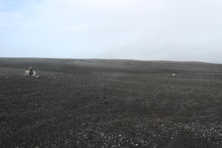 Vliegtuigwrak ijsland uitzicht