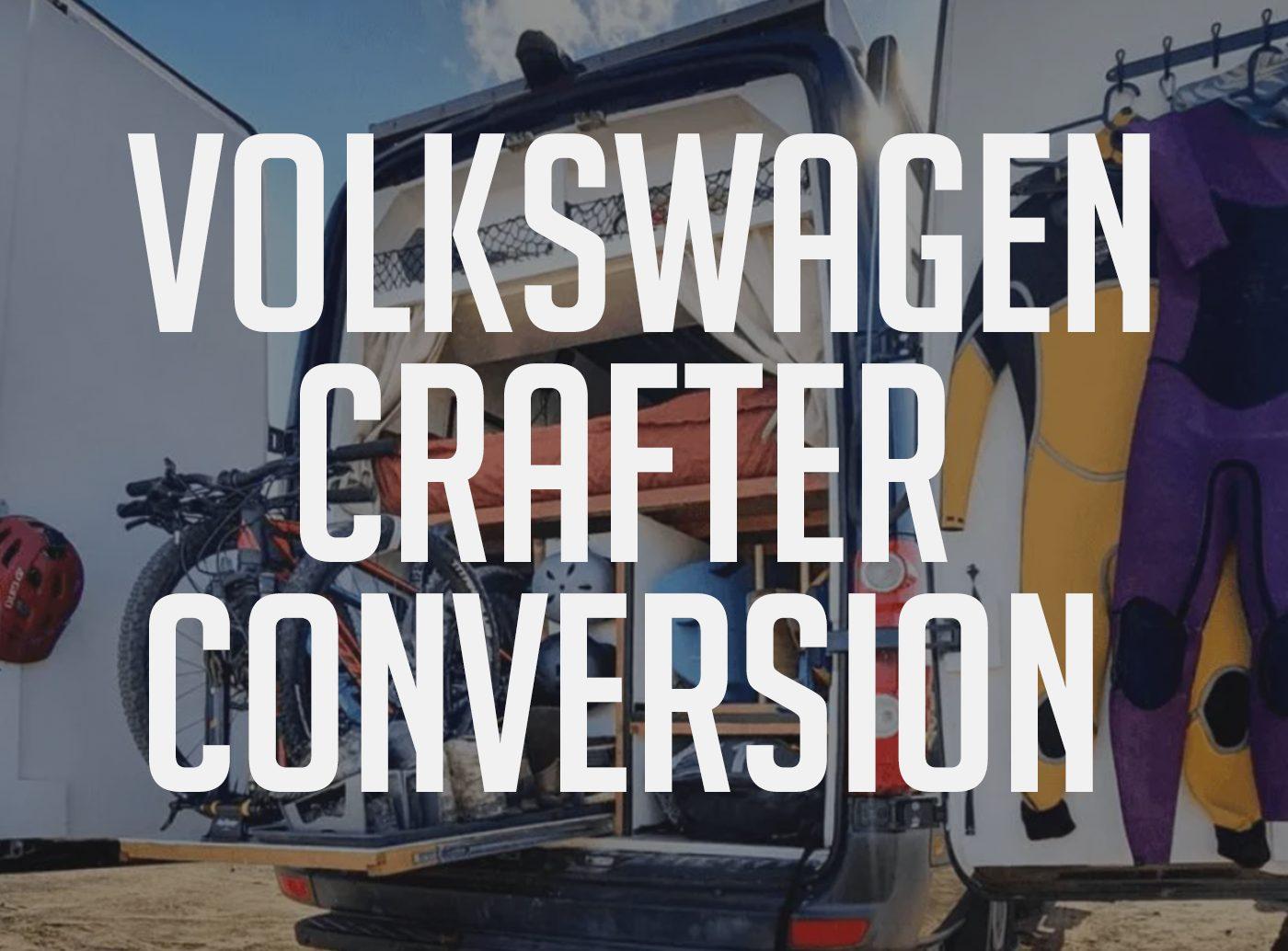 Volkswagen Crafter Conversion ombouwen