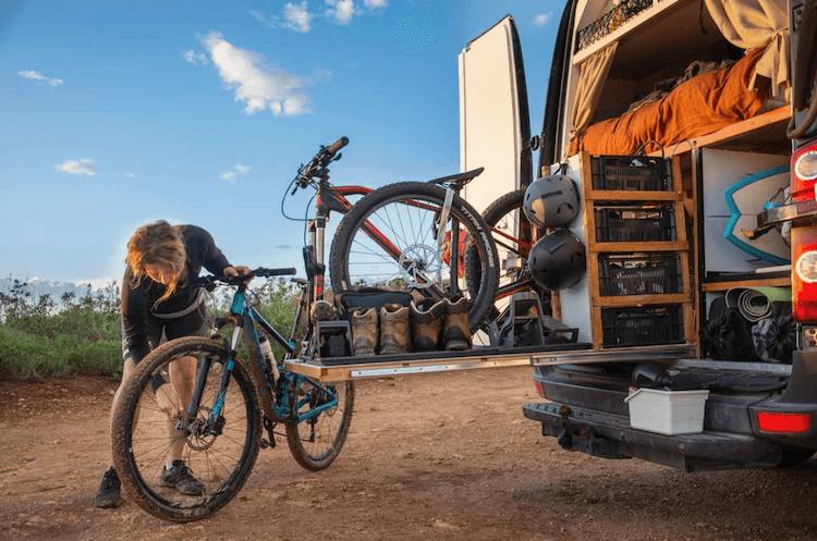 Volkswagen Crafter camper opbergruimte