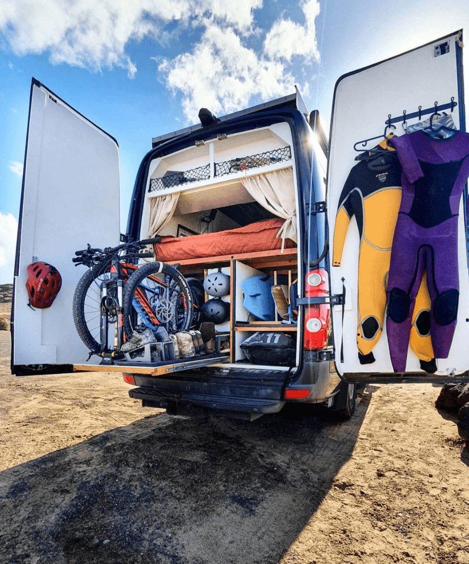 Volkswagen crafter camper maken
