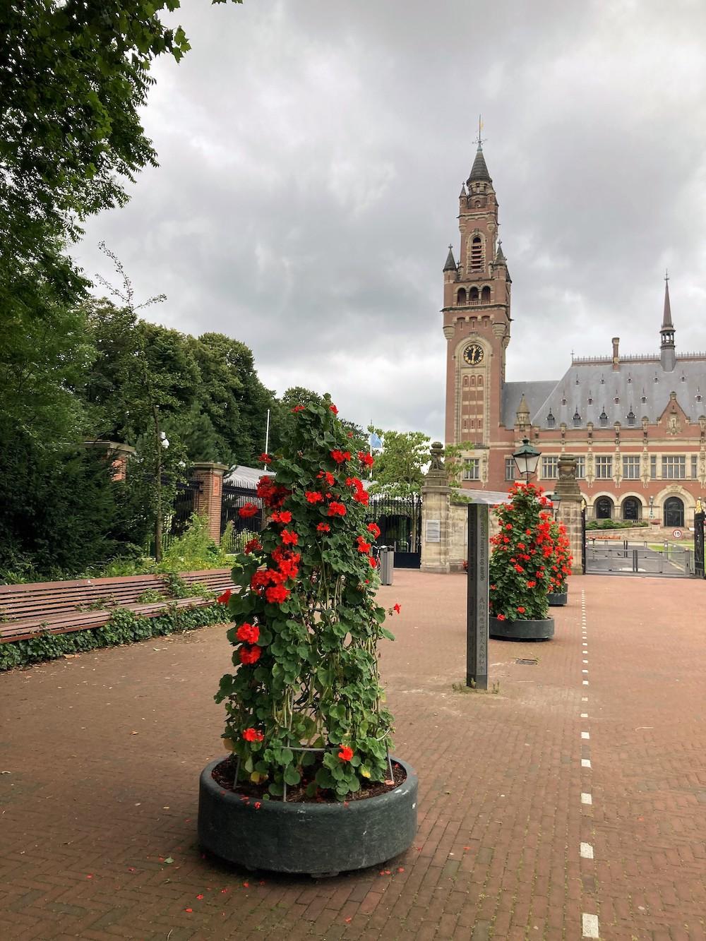 Vredepaleis, Den Haag
