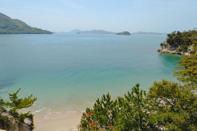 Vuurtoren look out op Okunoshima