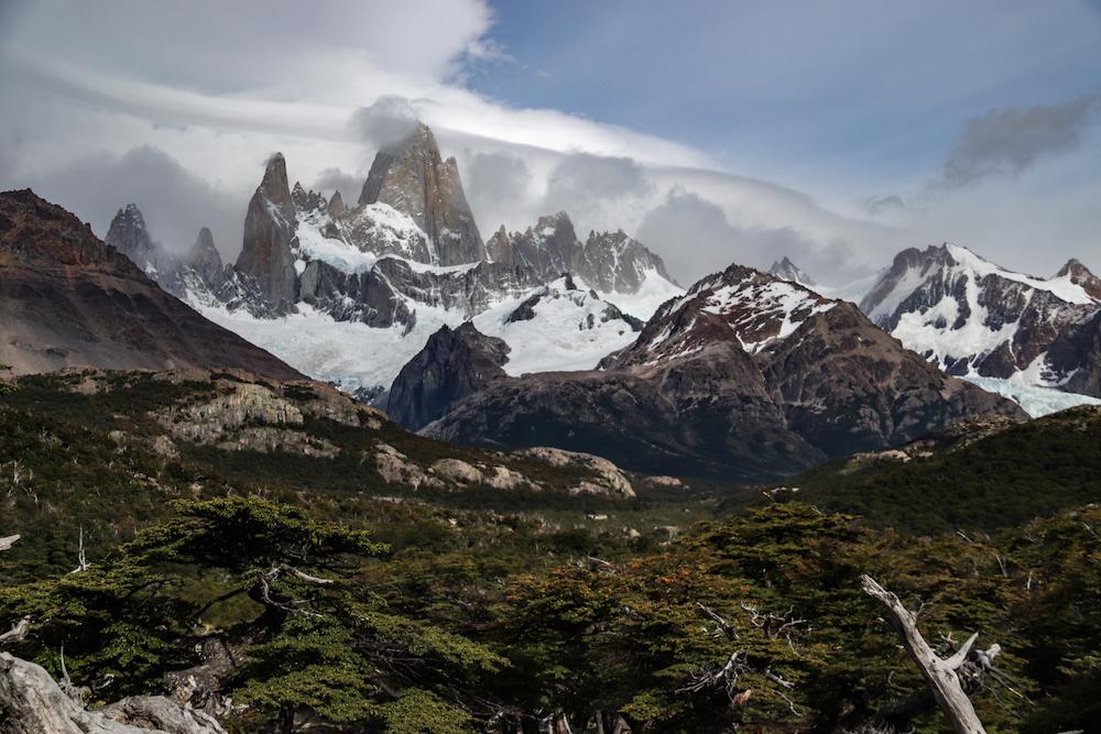 W-trek reizen naar patagonie