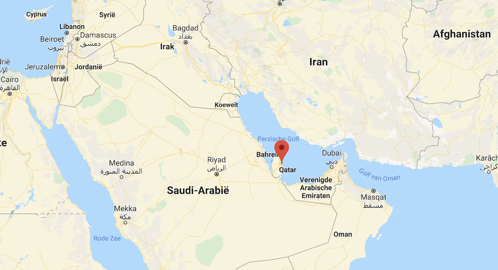 Waar ligt Doha Qatar