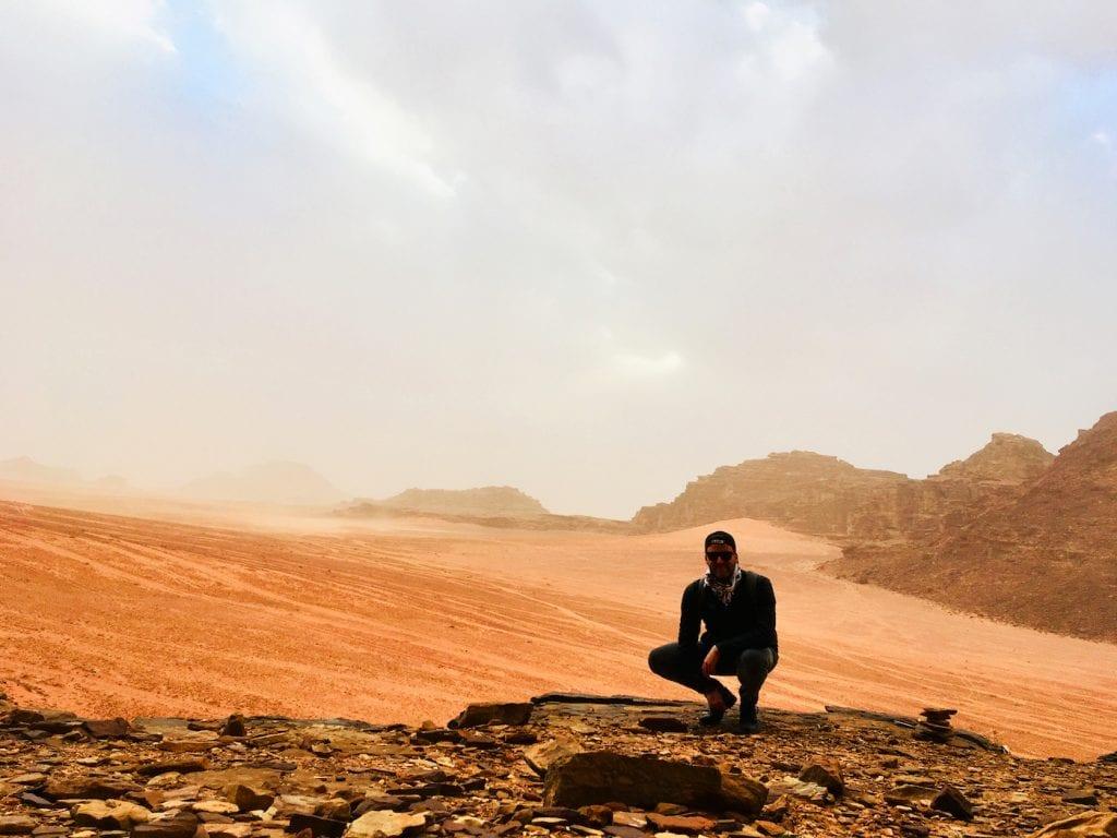 Wadi Rum woestijn jordanie