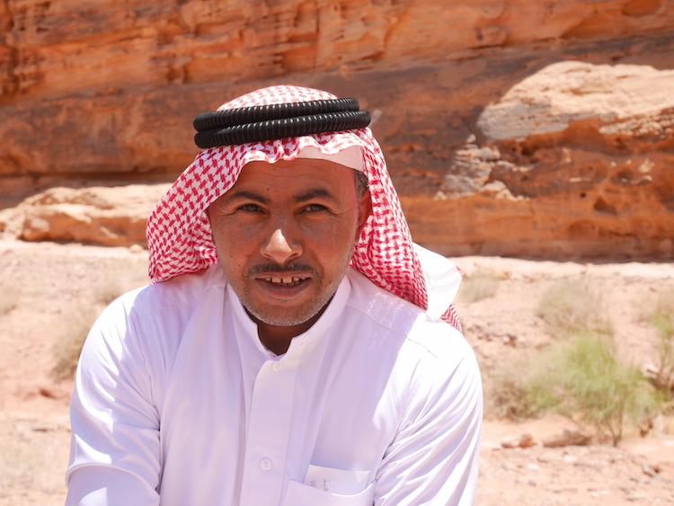 Wadi rum gids jordanie