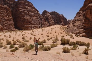 Wadi rum jordanie