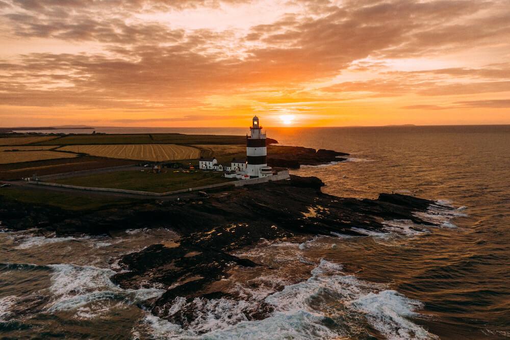 Wales ierland keltische kustroute Hook Lighthouse, Wexford