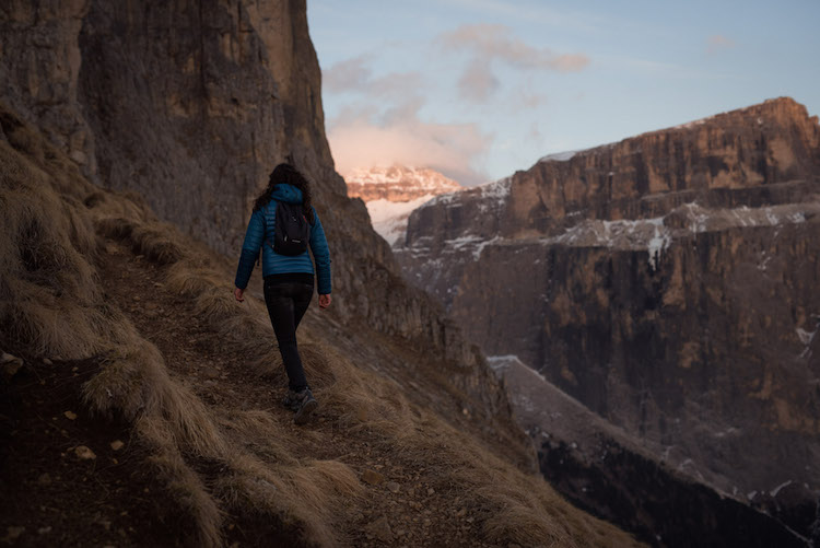 Wandelen dolomieten bergen