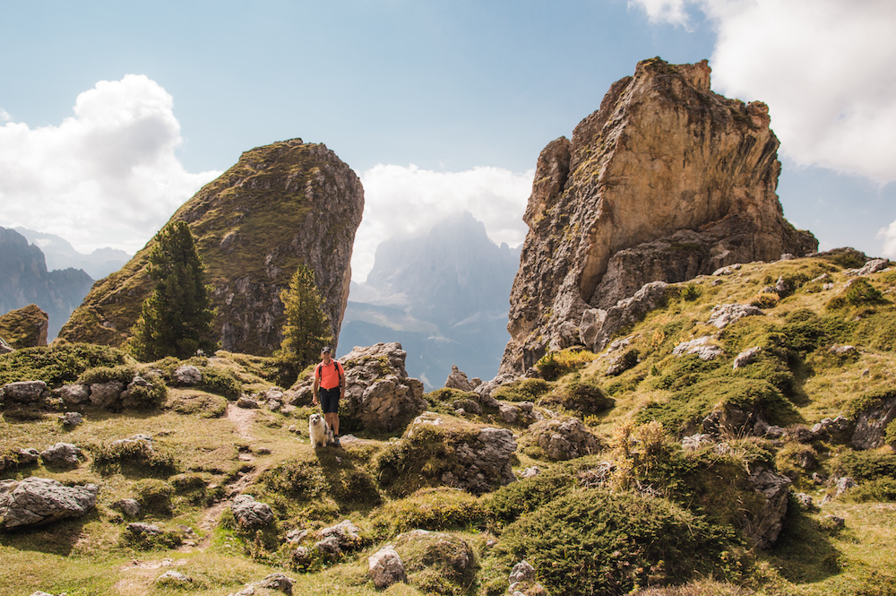 Wandelen dolomieten val gardena Puez Geisler Gids en Aica