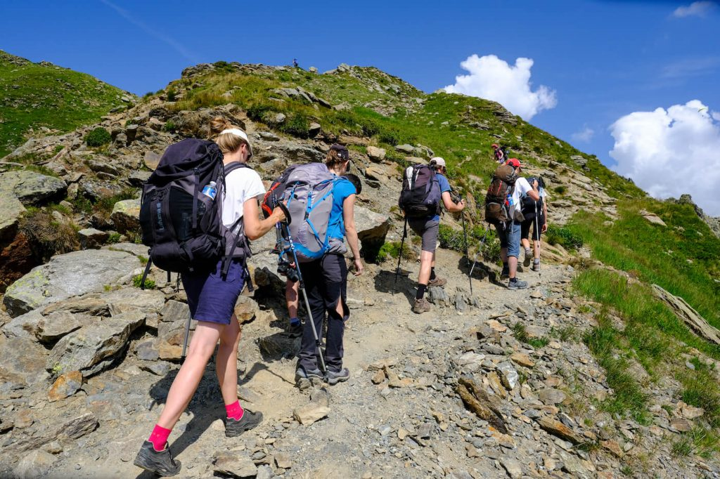 Wandelen in Frankrijk mont blanc beklimmen