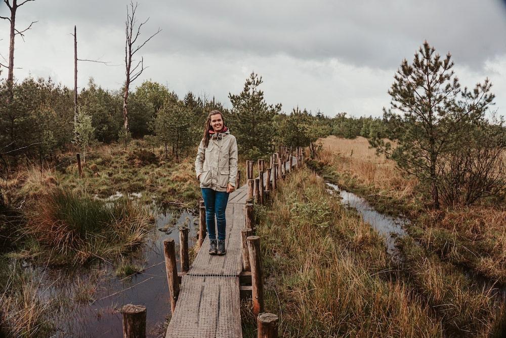 Wandelen plankenpad Drenthe