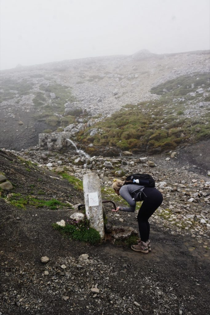 wandelen waterpunt fuente de picos de europa