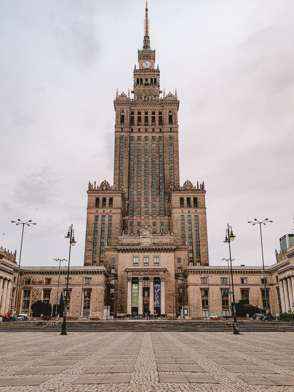 Warschau Paleis van Cultuur en Wetenschap