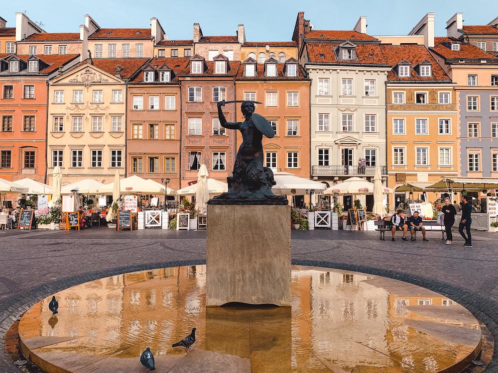 Warschau bezienswaardigheden