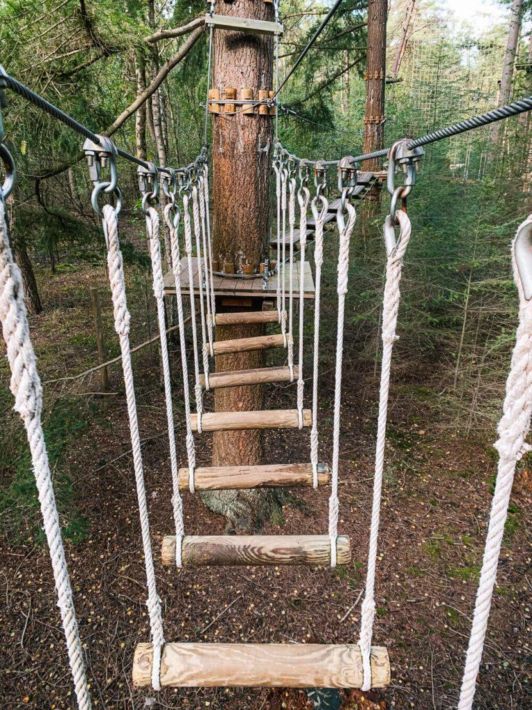 Wat doen in Achterhoek klimbos Ruurlo