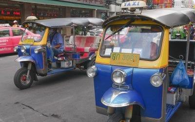 Wat te doen in Bangkok tuk tuk