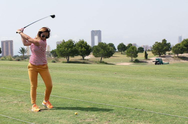 Wat te doen in Benidorm activiteiten Golfclinic
