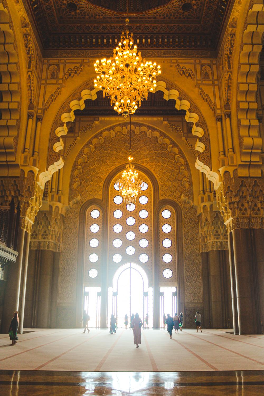 Wat te doen in Casablanca, Hassan II Moskee van binnen