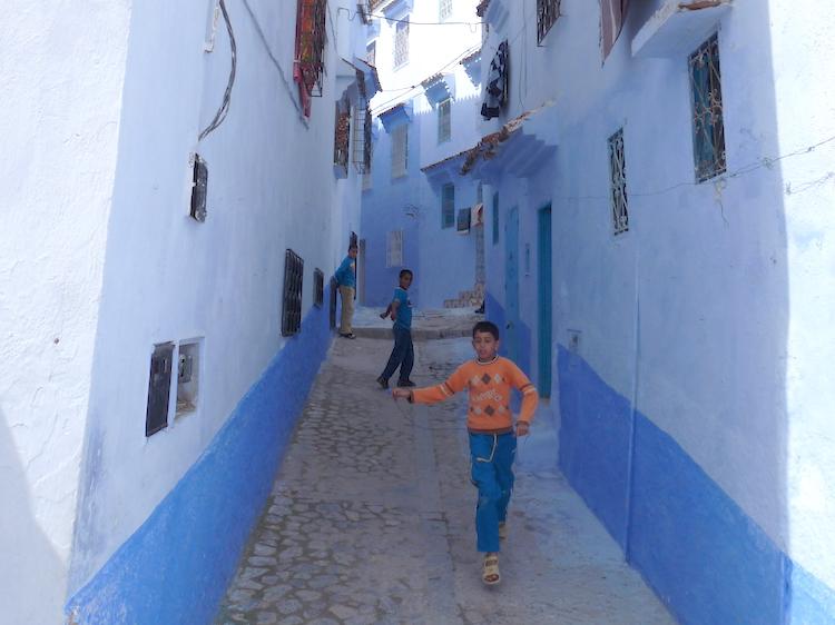 Wat te doen in Chefchaouen blauw