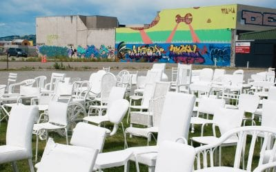 Wat te doen in Christchurch Nieuw Zeeland 185 White Chairs