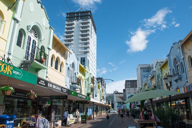 Wat te doen in Christchurch Nieuw Zeeland Regent Street