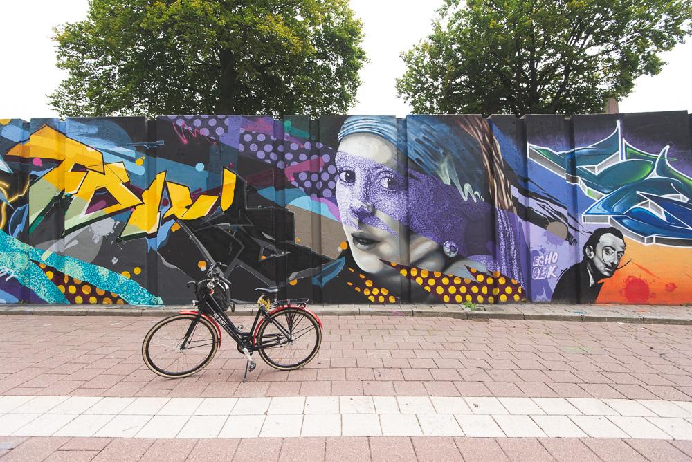 Wat te doen in Eindhoven streetart Berenkuil