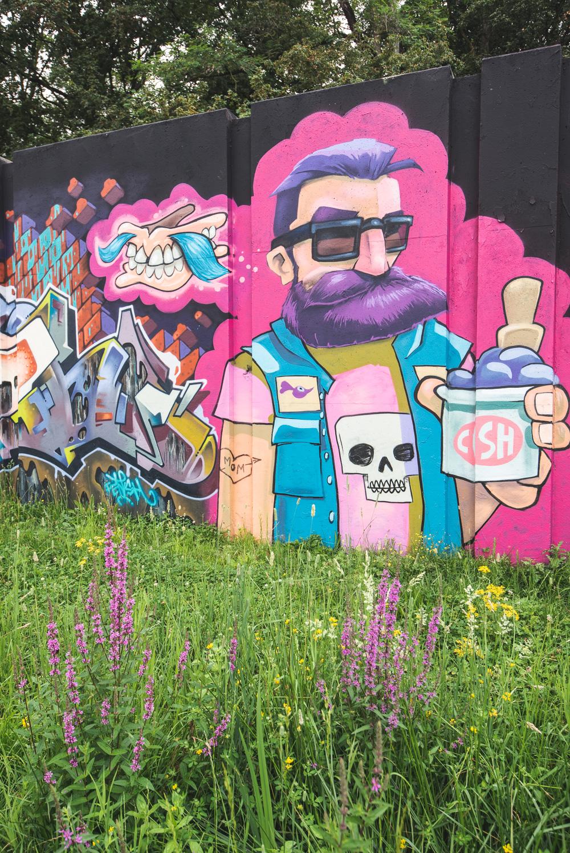 Wat te doen in Eindhoven streetart bij Berenkuil