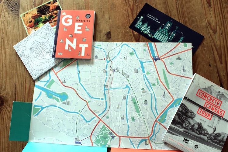 Wat te doen in Gent concrete canvas tour
