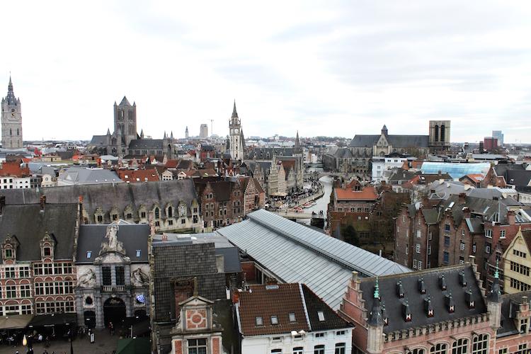 Wat te doen in Gent uitzicht