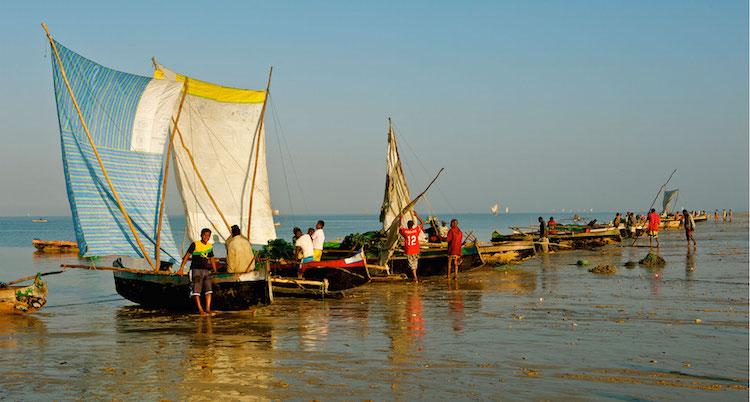Wat te doen in Madagascar-boten