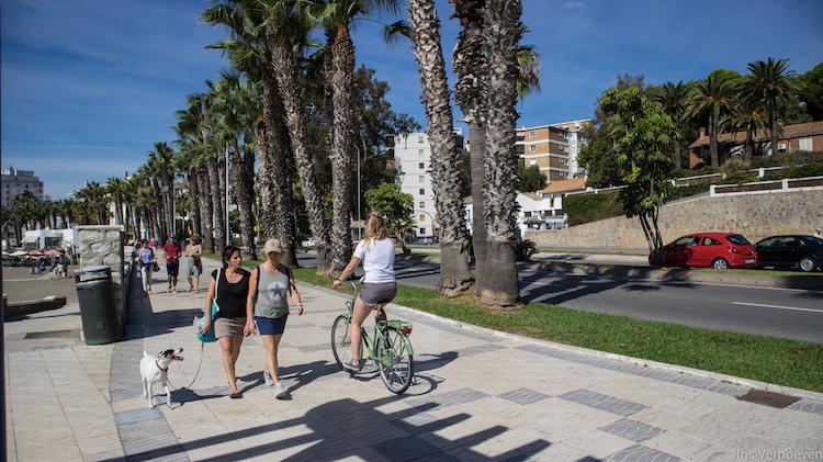 Wat te doen in Malaga fietsen