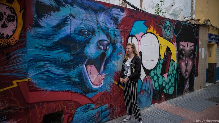 Wat te doen in Malaga streetart