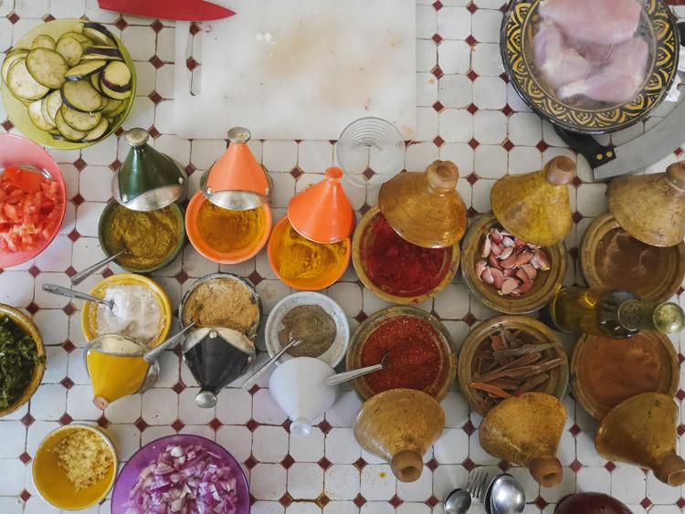 Wat te doen in Marrakech kookcursus_