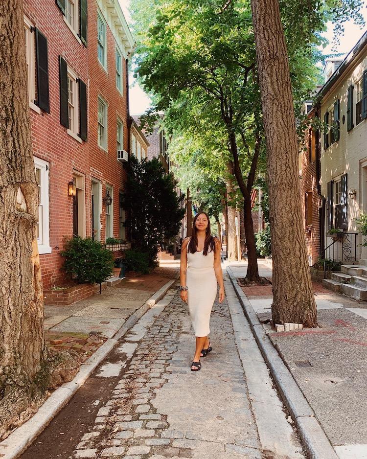 Wat te doen in Philadelphia historic mile Elfreth's Alley