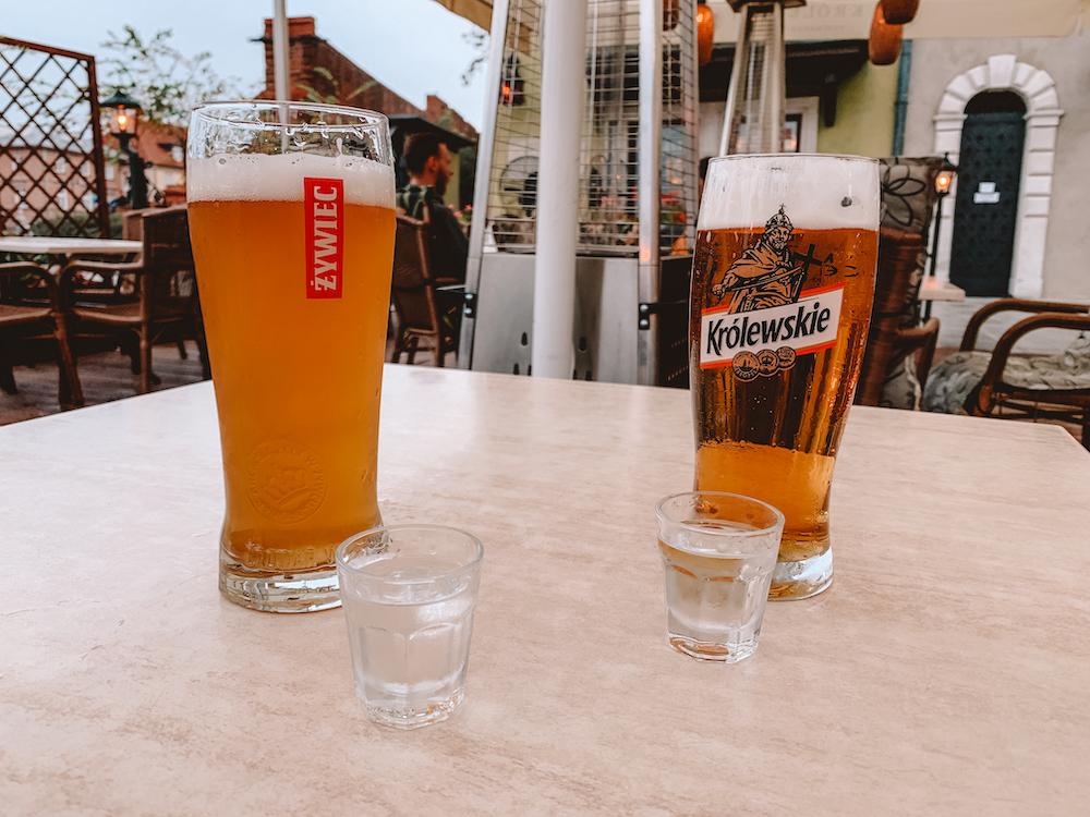 Wat te doen in Polen, wodka drinken