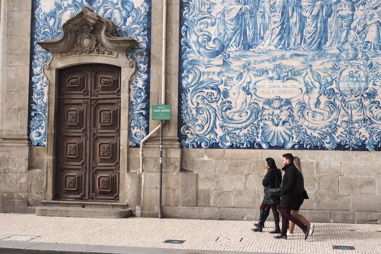 Wat te doen in Porto tegels