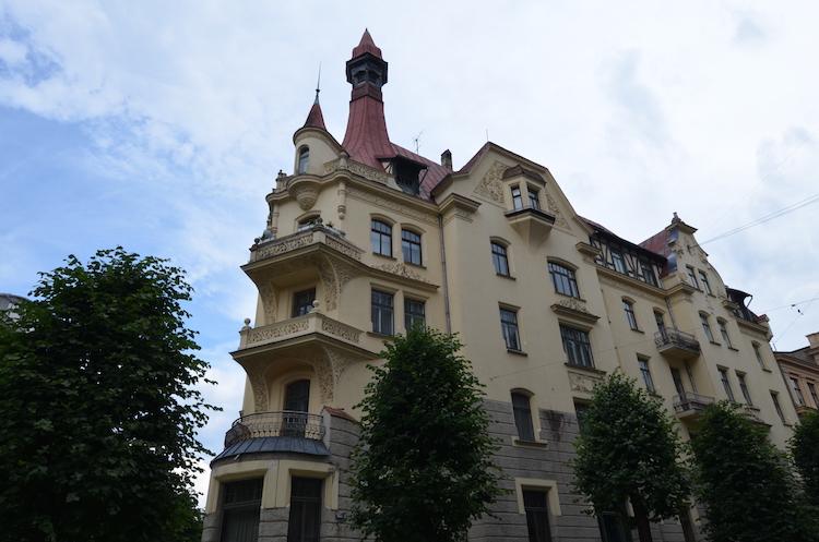 Wat te doen in Riga stedentrip Art nouveau