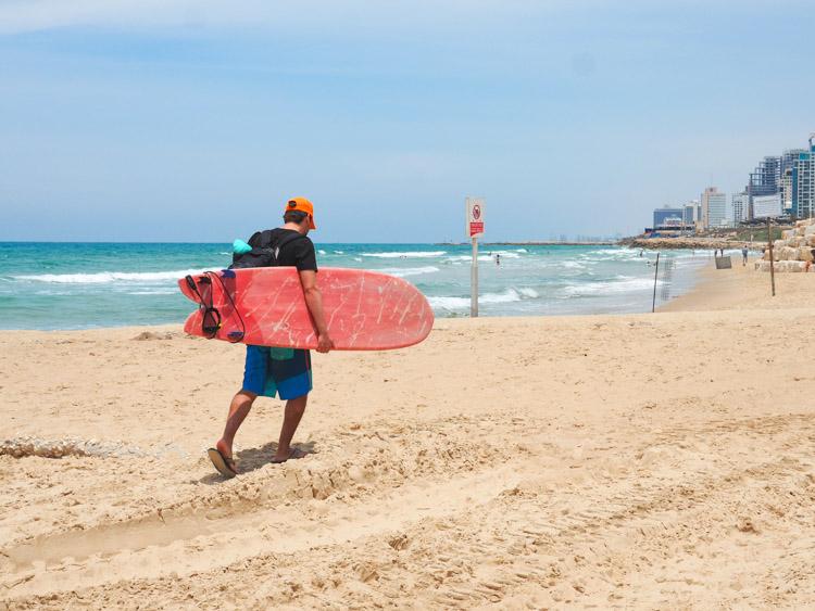 Wat te doen in Tel Aviv strand